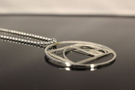 Fibonacci Sequence Golden Ratio Pendant